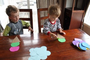 Ice Cream Scoop Math Game 13
