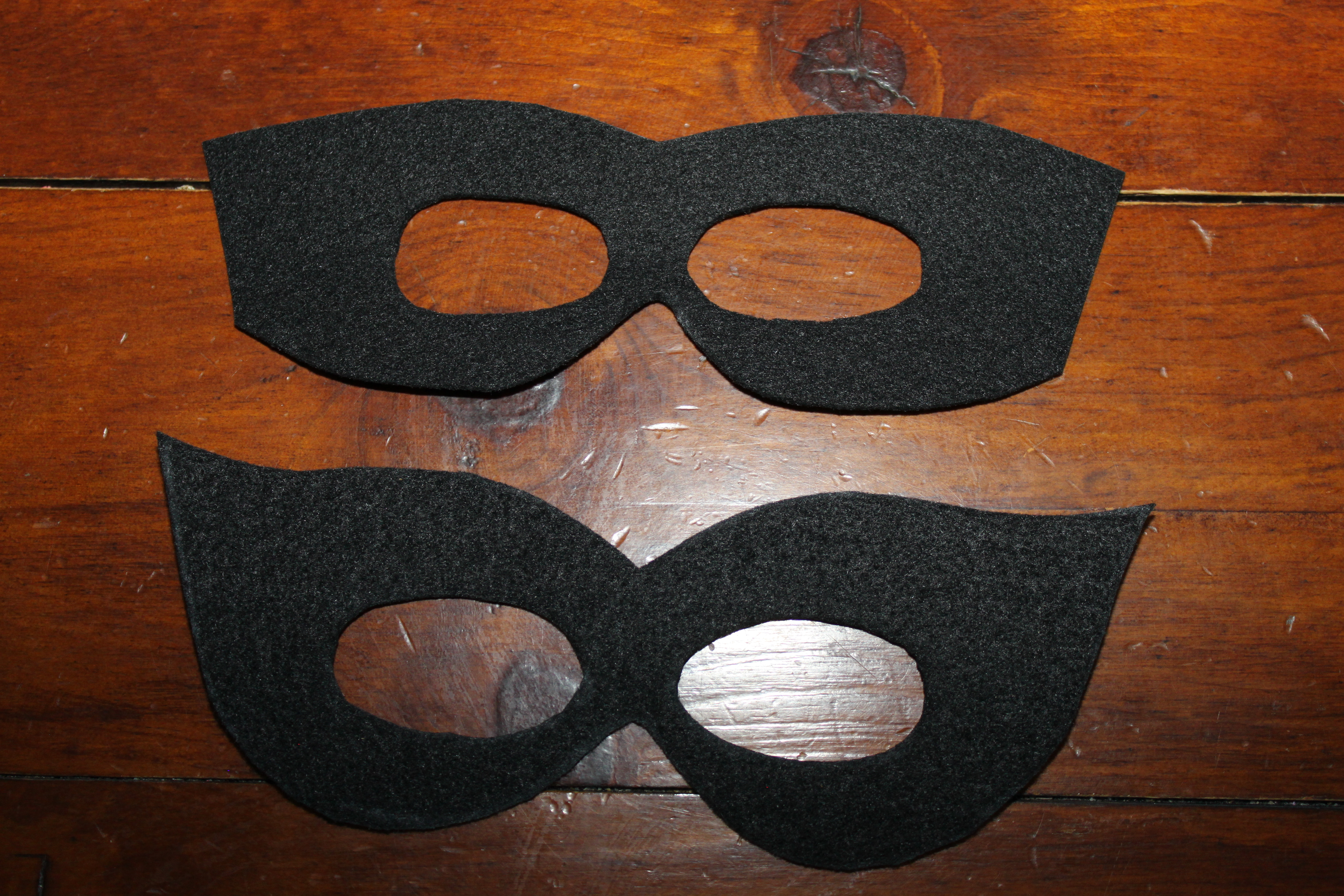 marvel black cat mask template - diy superhero capes and masks