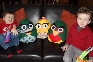 Angry Bird Pillows 29