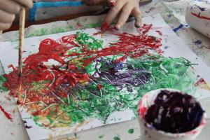 spaghetti painting 13