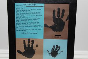 Handprint Keepsake 3