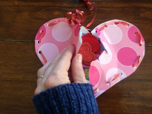 Encourage the recipient to rip them open in order to reveal the treats inside!